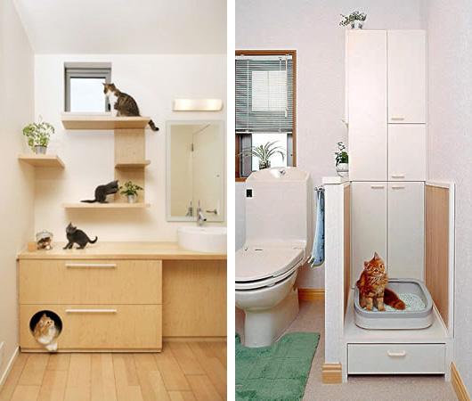 Das wohl katzenfreundlichste haus der welt for Wohnung design magazin