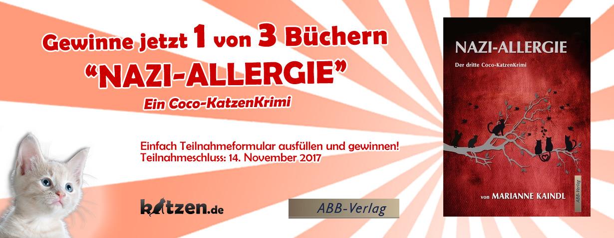 Gewinnspiel: Nazi-Allergie