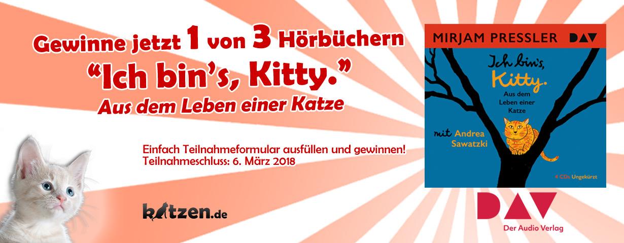Gewinnspiel: Ich bin's, Kitty – Aus dem Leben einer Katze
