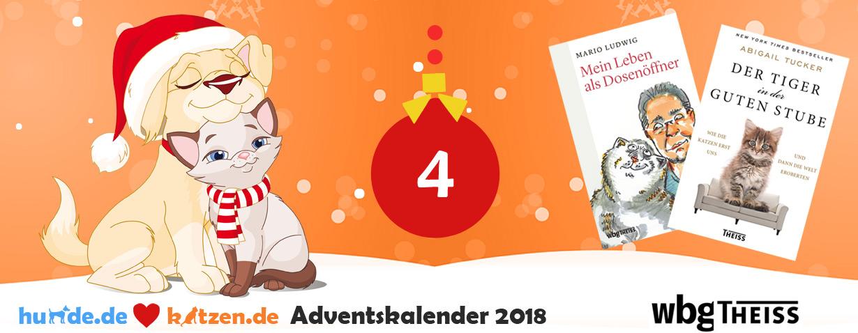 Gewinnspiel: Bücher-Bundle - Mein Leben als Dosenöffner & Der Tiger in der guten Stube