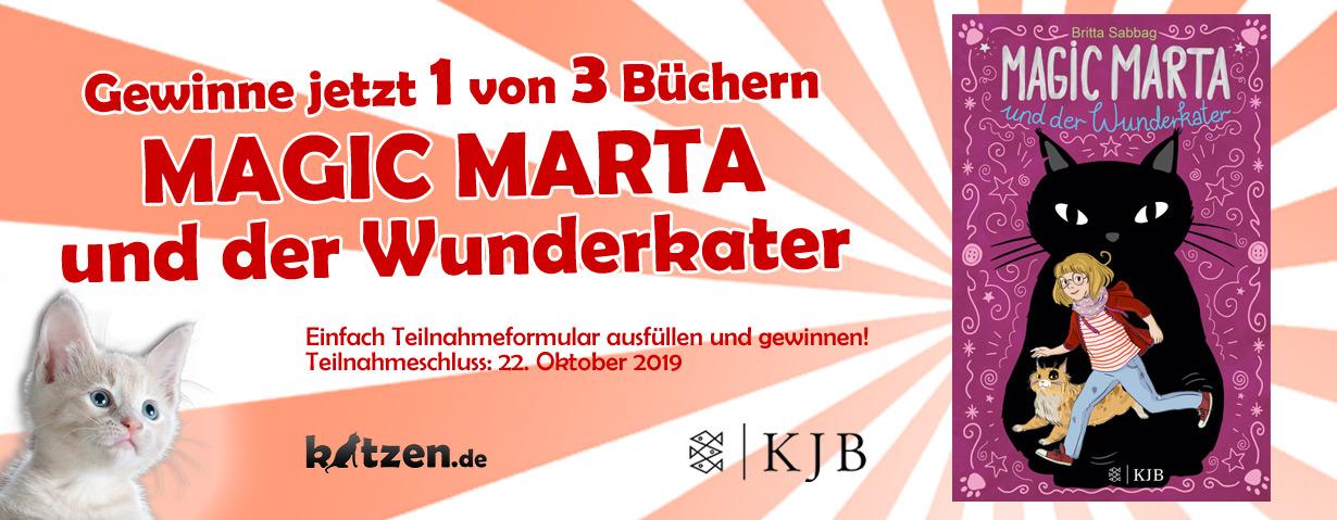 Gewinnspiel: Magic Marta und der Wunderkater