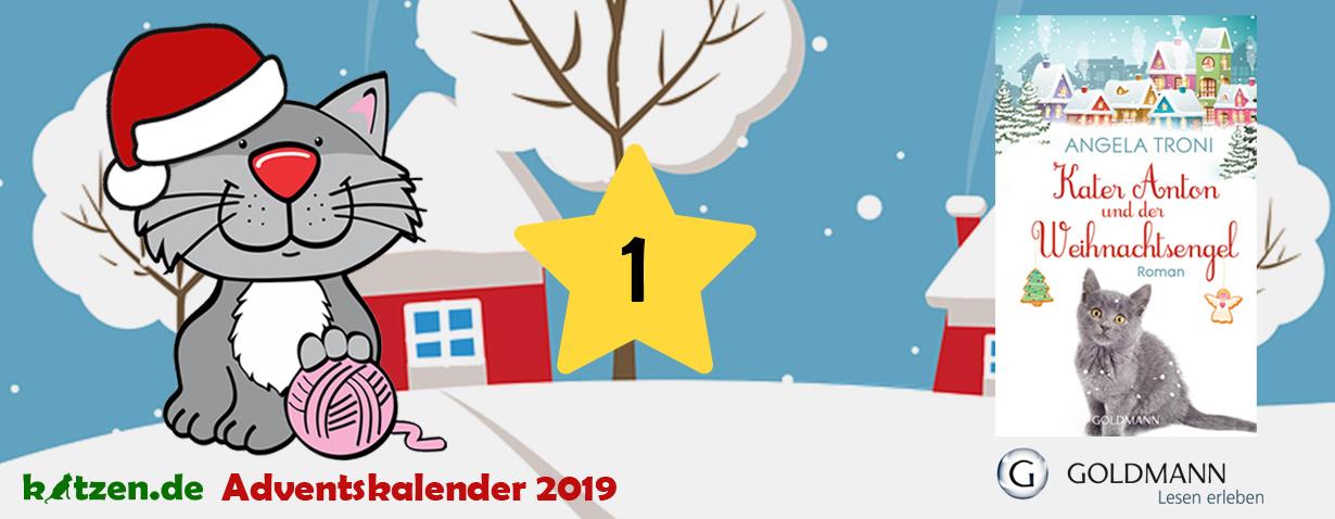 Gewinnspiel: Kater Anton und der Weihnachtsengel