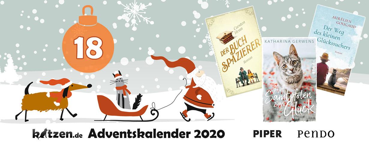 """Gewinnspiel: """"Auf Samtpfoten zum Glück"""", """"Der Weg des kleinen Glückssuchers"""" & """"Der Buchspazierer"""""""