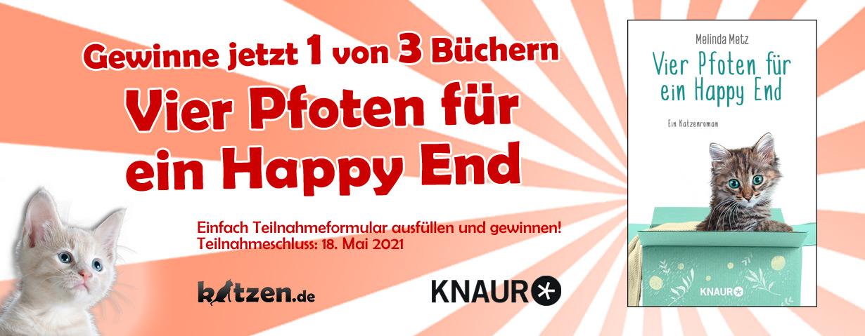 Gewinnspiel: Vier Pfoten für ein Happy End