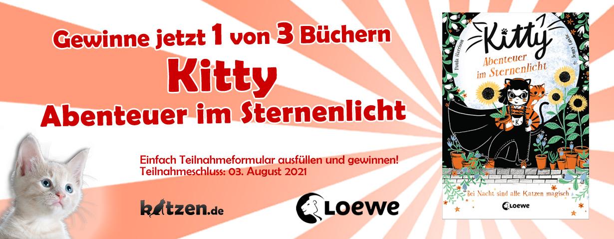 Gewinnspiel: Kitty - Abenteuer im Sternenlicht (Band 3)