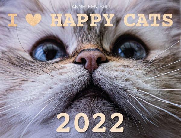 Kalender I love Happy Cats 2022