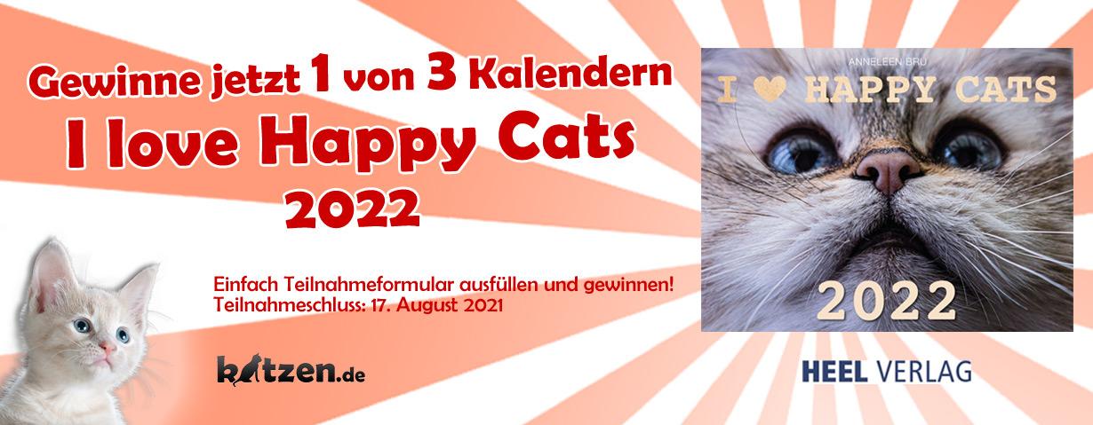 """Gewinnspiel: Kalender """"I love Happy Cats 2022"""""""