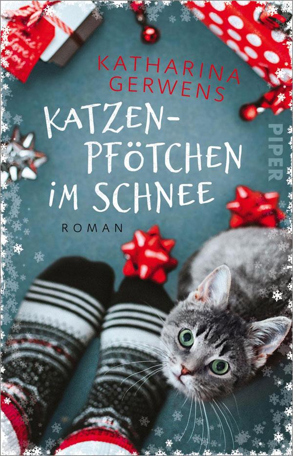 Katharina Gerwens - Katzenpfötchen im Schnee