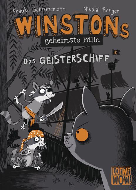 """""""Winstons geheimste Fälle (Band 2) – Das Geisterschiff"""" von Frauke Scheunemann"""