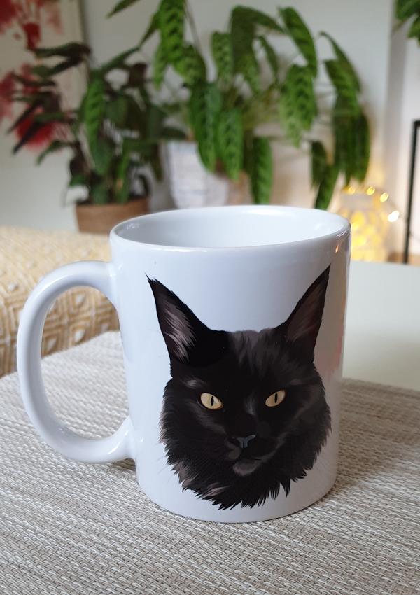 Tasse personalisiert mit deinem Haustier