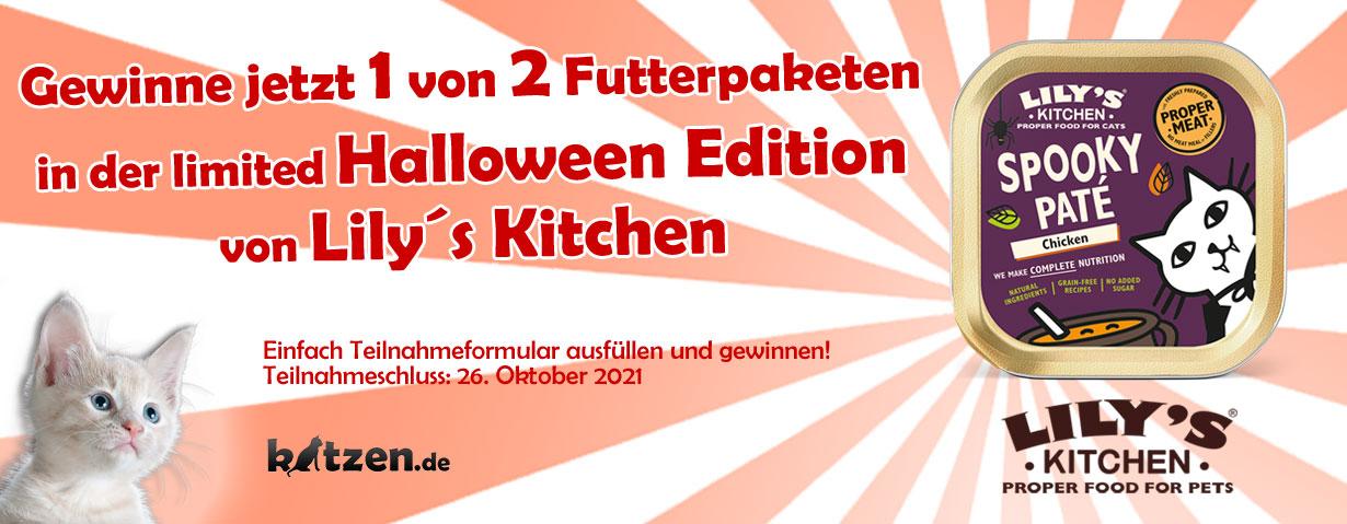 Gewinnspiel: Tolle Futterpakete von Lily´s Kitchen mit der limited Halloween Edition